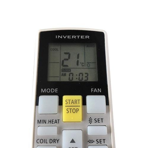 Remote Điều Khiển Dùng Cho Máy Lạnh Fujitsu Inverter AR-RAE2U, Điều Hòa AR-RY10