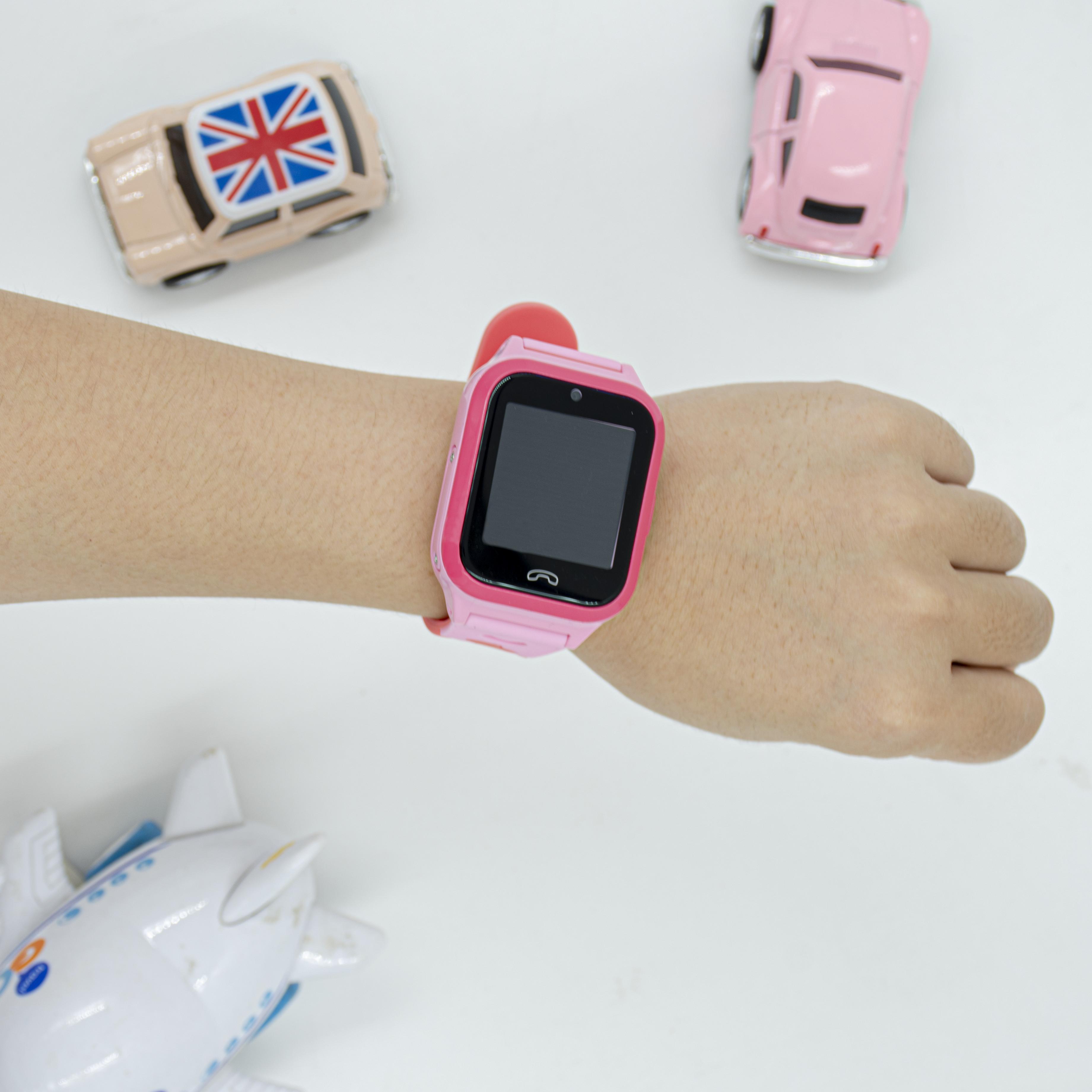 Đồng hồ định vị đeo tay trẻ em Kitten - CGTW7Plus_PK - Hàng Chính Hãng