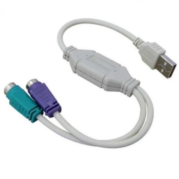 Cổng  USB RA PS2 cho bàn phím và chuột