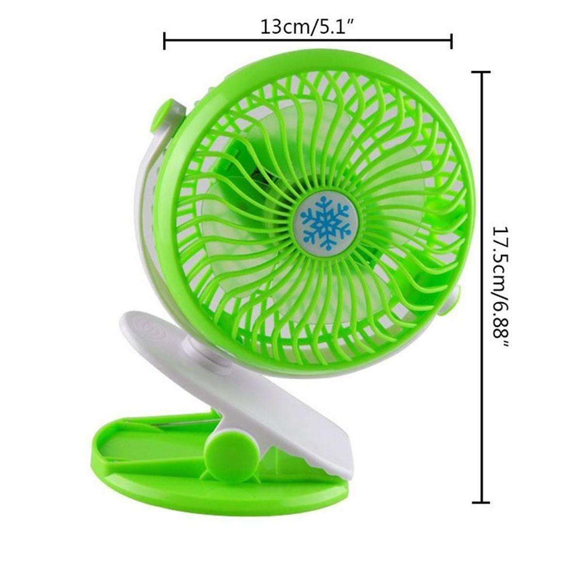 Quạt Mini Sạc Pin Kẹp Bàn Xoay 360 Độ Tiện Dụng ML-F168, Quạt Kẹp Bàn Không Chiếm Không Gian Siêu Mát Mẻ Với 3 Tốc Độ Gió Thông Minh