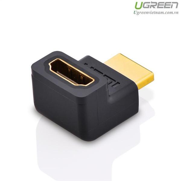 Đầu Nối HDMI Chữ L ( bẻ lên- vuông góc)- Hàng Chính Hãng Ugreen 20110