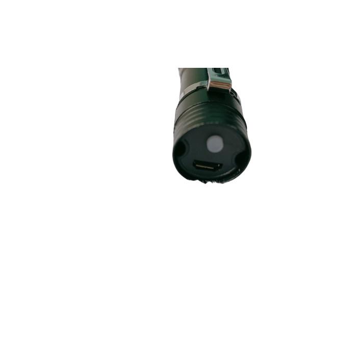 Đèn Pin Mini Siêu Sáng Tặng Kèm Dây Sạc Tiện Lợi - Hàng nhập khẩu
