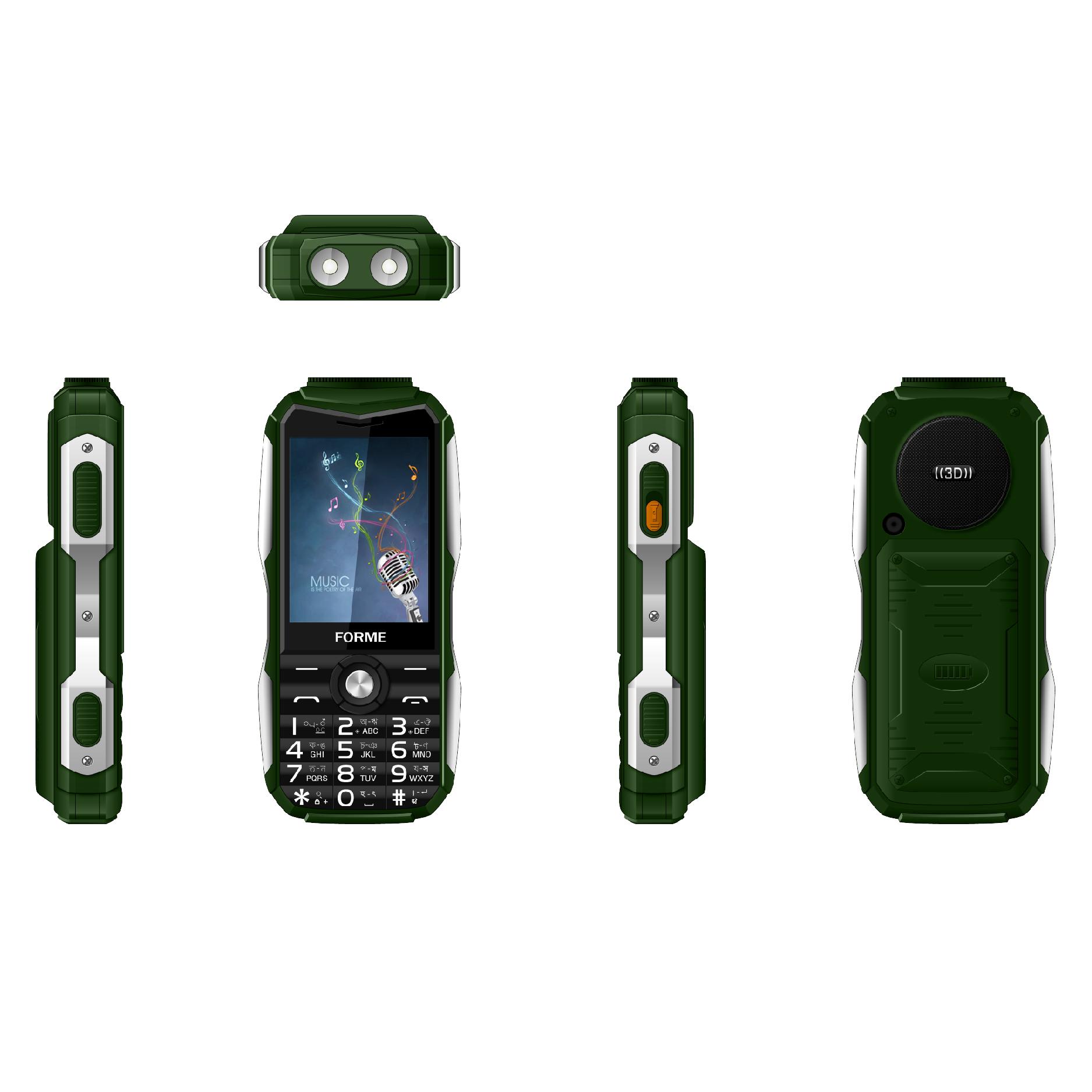 Điện thoại di động Forme D777 - Hàng chính hãng