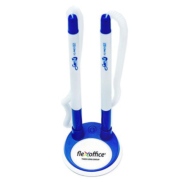 Bút cắm bàn đôi Thiên Long FO-PH01 - Màu xanh