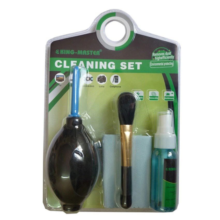 Bộ vệ sinh Laptop 6 món Cleaning Set - Hàng Nhập Khẩu