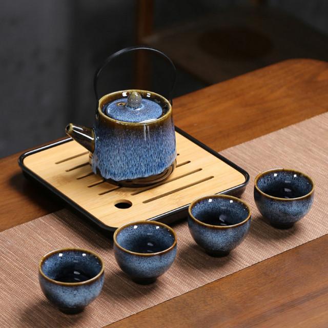 Bộ Bình Trà phong cách kiểu Nhật Seiza Muromachi