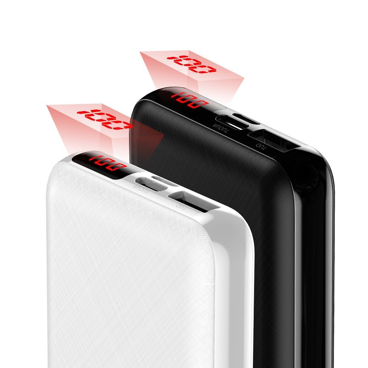 Pin sạc dự phòng 10.000mAh QC 3.0 Baseus Mini S PD siêu nhỏ gọn màn hình LED - Hàng chính hãng