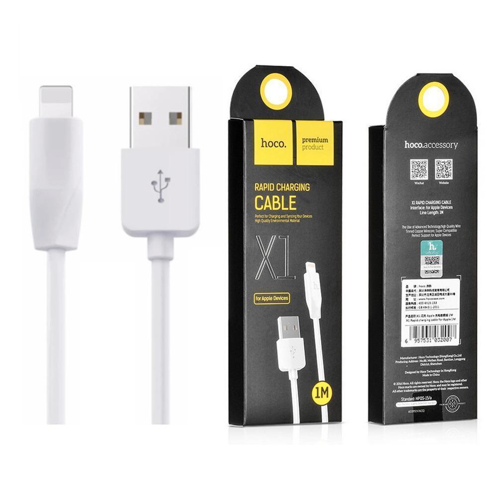 Cáp sạc iphone sạc nhanh Hoco X1 - Hàng nhập khẩu