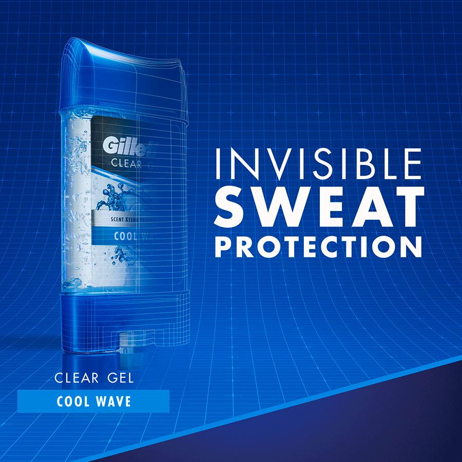 Gel khử mùi Gillette Hương Gió Biển 107g (Nhập khẩu Mỹ)