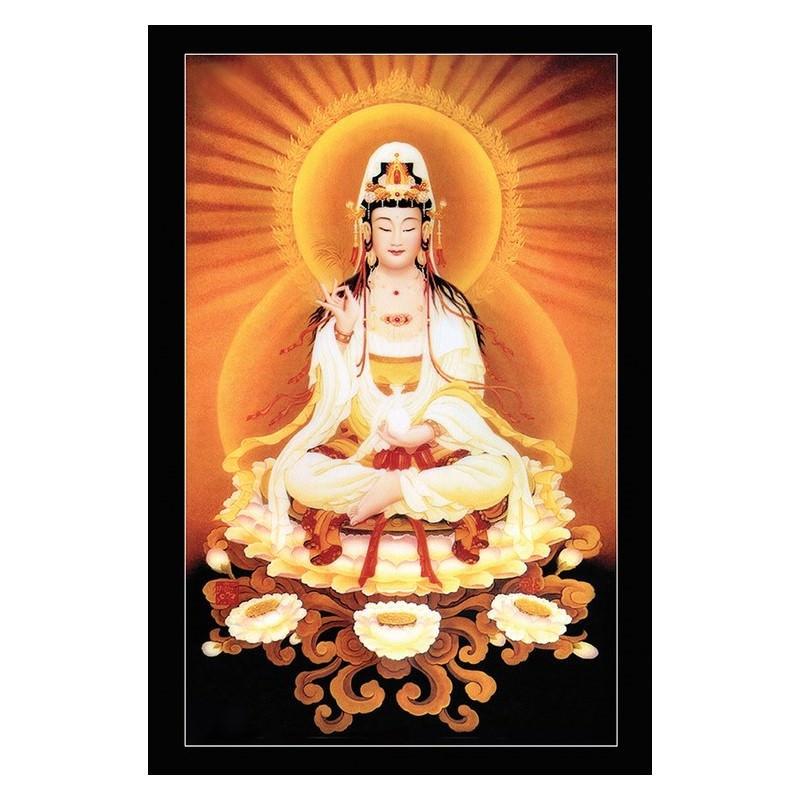 Tranh Phật Giáo Nam Mô Quan Thế Âm Bồ Tát 2211