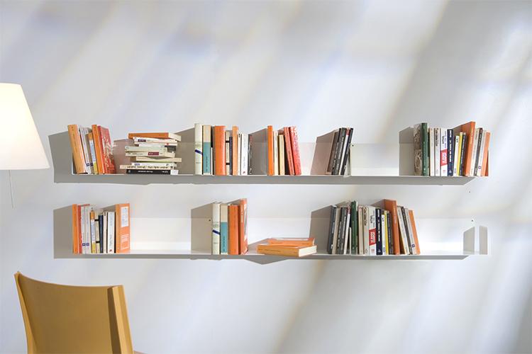 Kệ Sách Treo Tường Smlife Chữ U 60 ( 60 x 15 x 15 cm) - Trắng