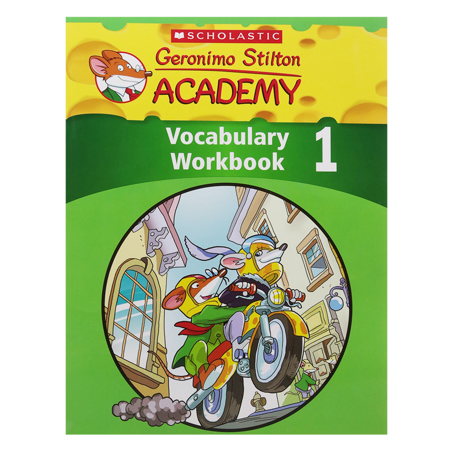 Geronimo Stilton Academy: Vocabulary Paw Book 1
