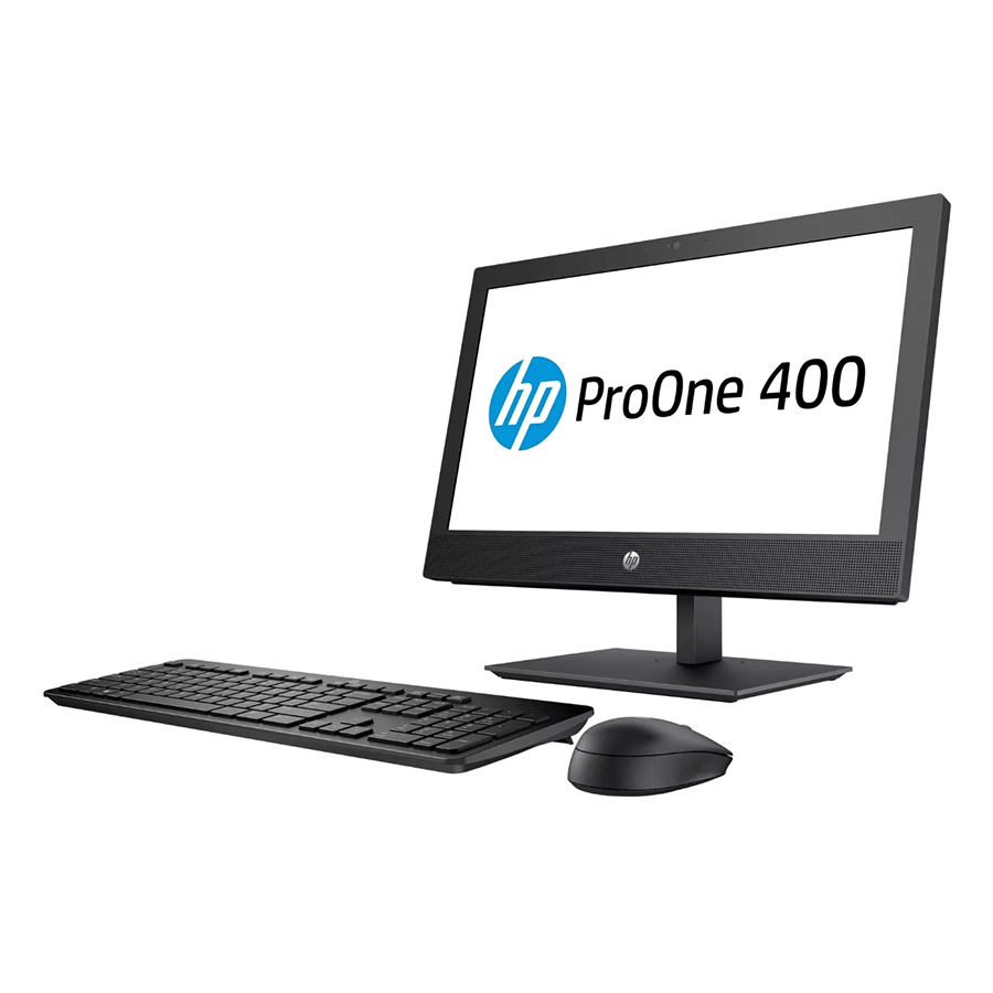 """PC AIO HP ProOne 400 G4 4YL92PA Core i3-8100T/4Gb/1TB/23""""/Dos - Hàng Chính Hãng"""