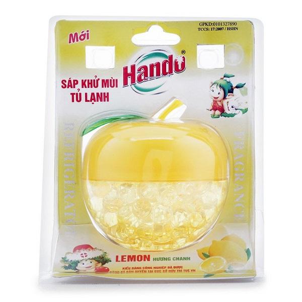 Sáp thơm khử mùi tủ lạnh Hando 160g 3 Hương Tùy Chọn  - Vàng