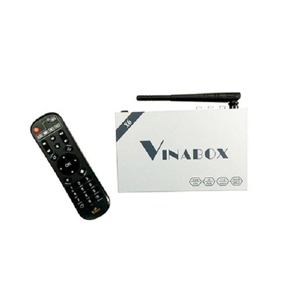 Android TV Box Vinabox X6 Ram 2Gb Android 7.1.2 - Hàng Chính Hãng