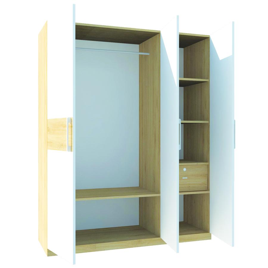 Tủ áo FT018 (140cm x 200cm)