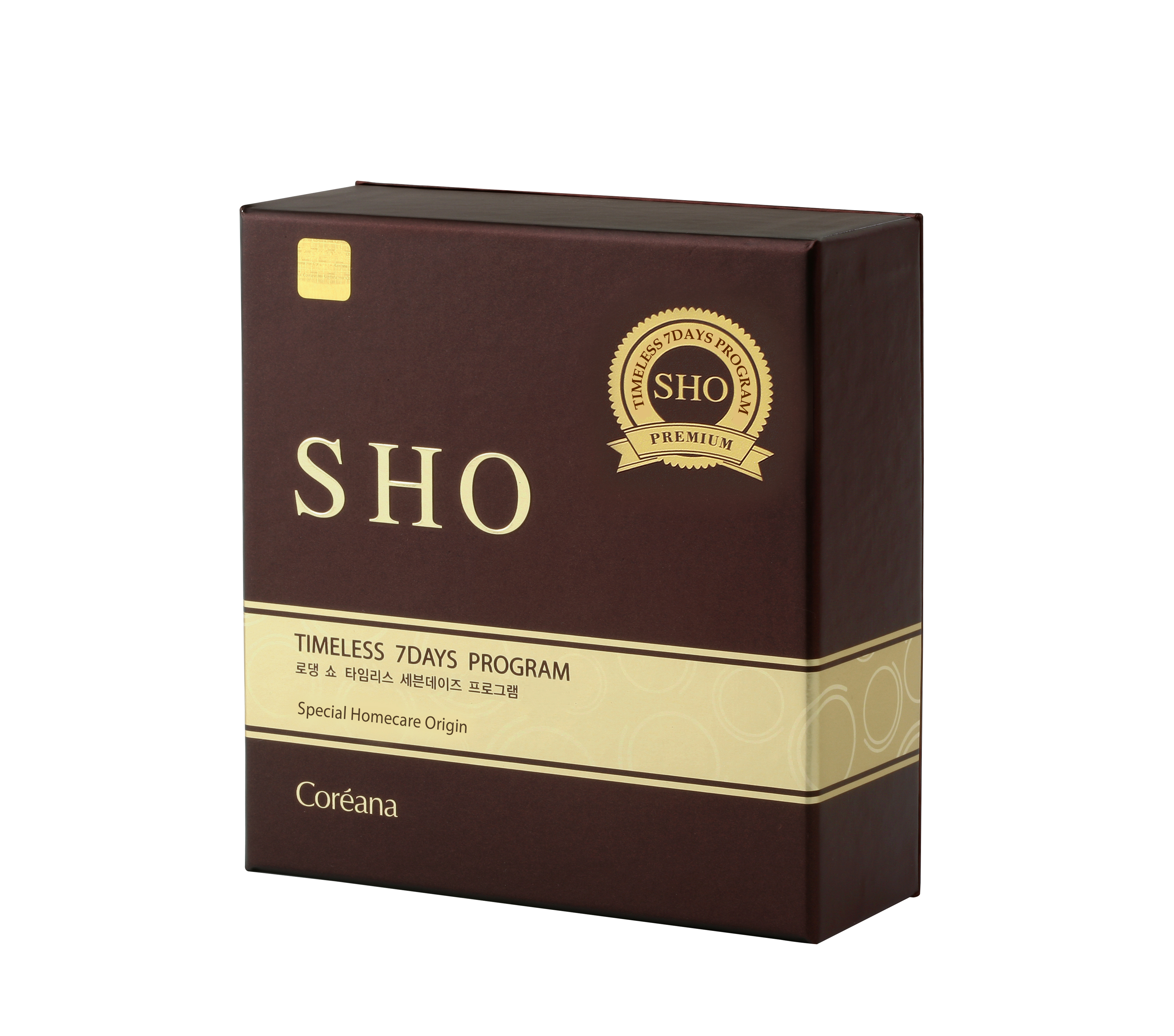 Bộ tinh chất Ampoule + kem dưỡng mặt 7 ngày chống lão hóa chuyên sâu Rodin SHO Timeless 7 Days Program - thương hiệu Rodin SHO