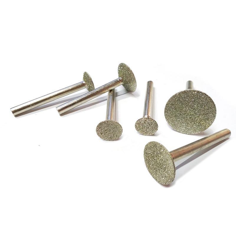 Bộ 7 mũi mài trạm khắc đá khắc ngọc làm sạch mối hàn và mài thủy tinh chân cốt 6ly