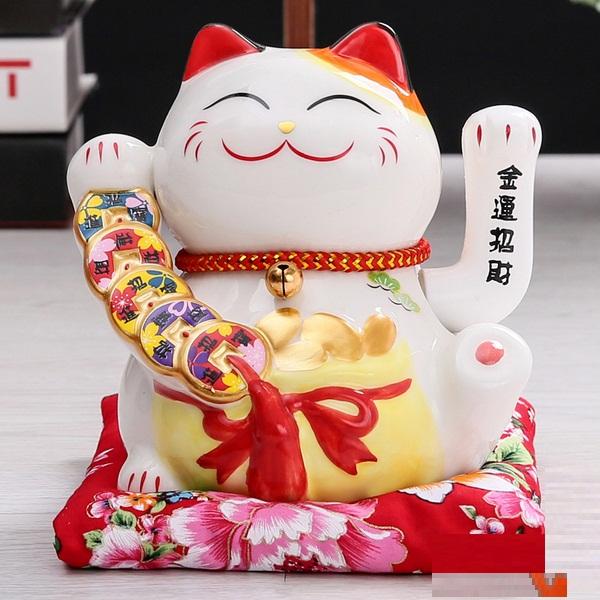 Mèo Thần Tài, Mèo May Mắn ( ngẫu nhiên)