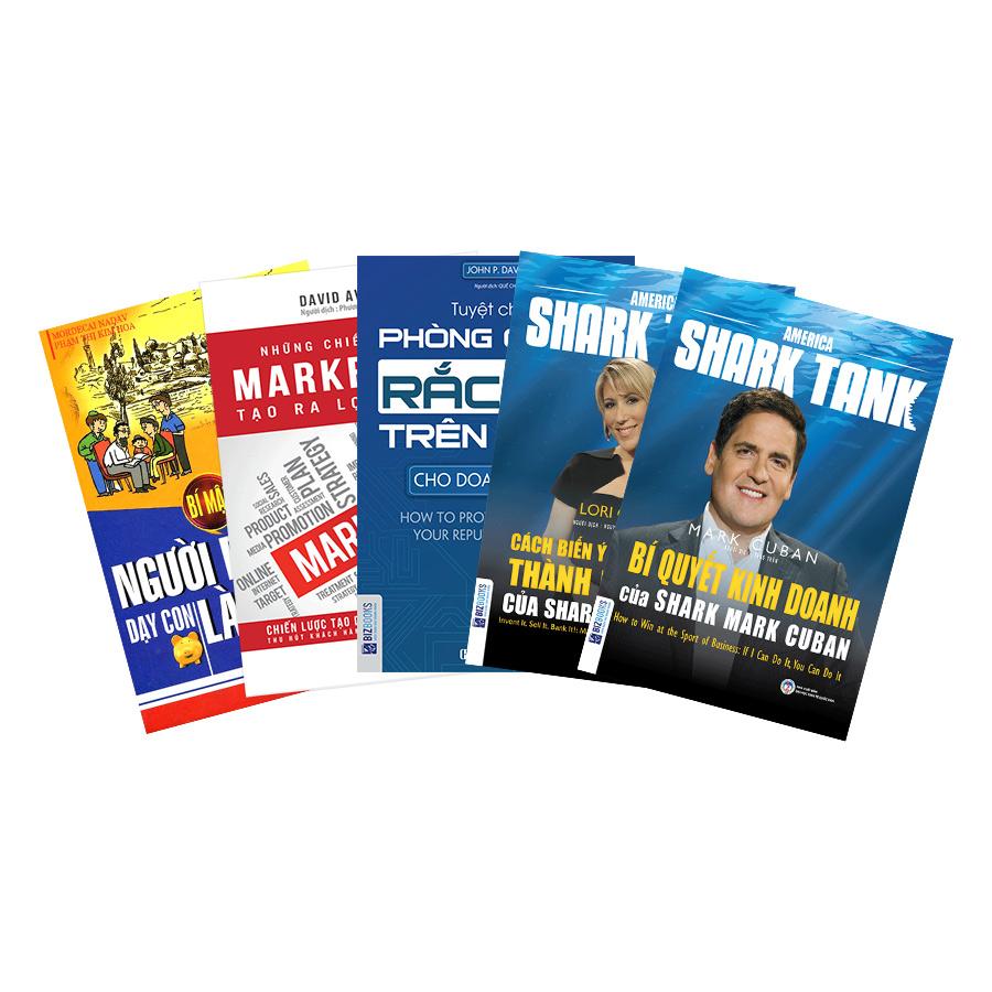 Combo 4 Cuốn Bí Quyết Kinh Doanh, Marketing Và Bán Hàng (Tặng Kèm Bí Mật Người Do Thái Dạy Con Làm Giàu)