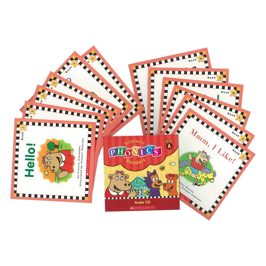 Scholastic Phonics Readers A (With CD)