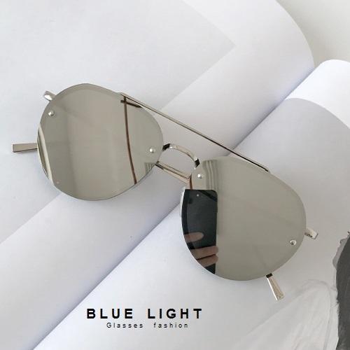 Kính Râm, Kính Mát Nam Nữ Mắt Phi Công Tráng Gương Gọng Khoan Hàn Quốc - BLUE LIGHT SHOP
