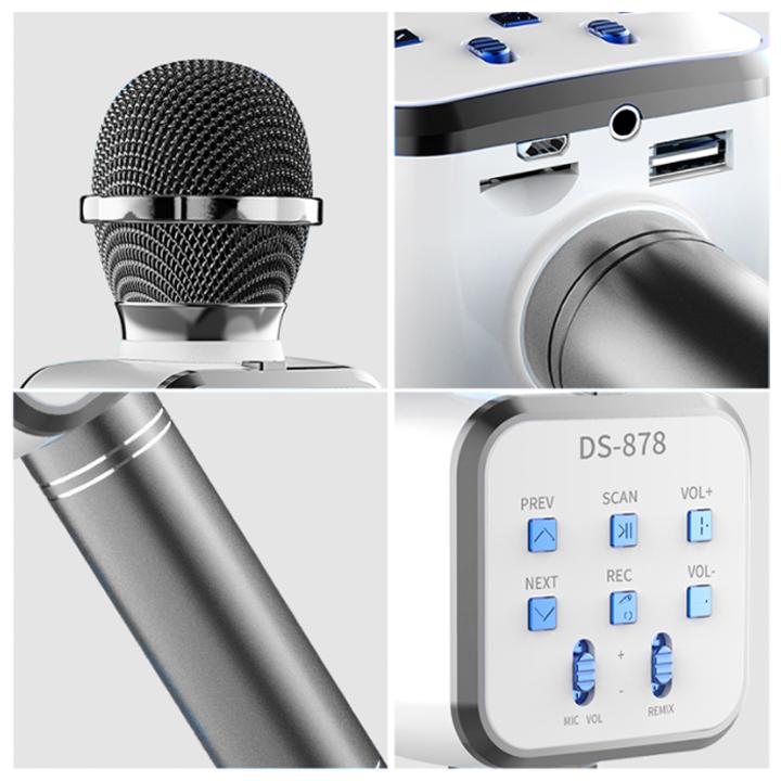 Mic Hát Karaoke Bluetooth - Giao Màu Ngẫu Nhiên
