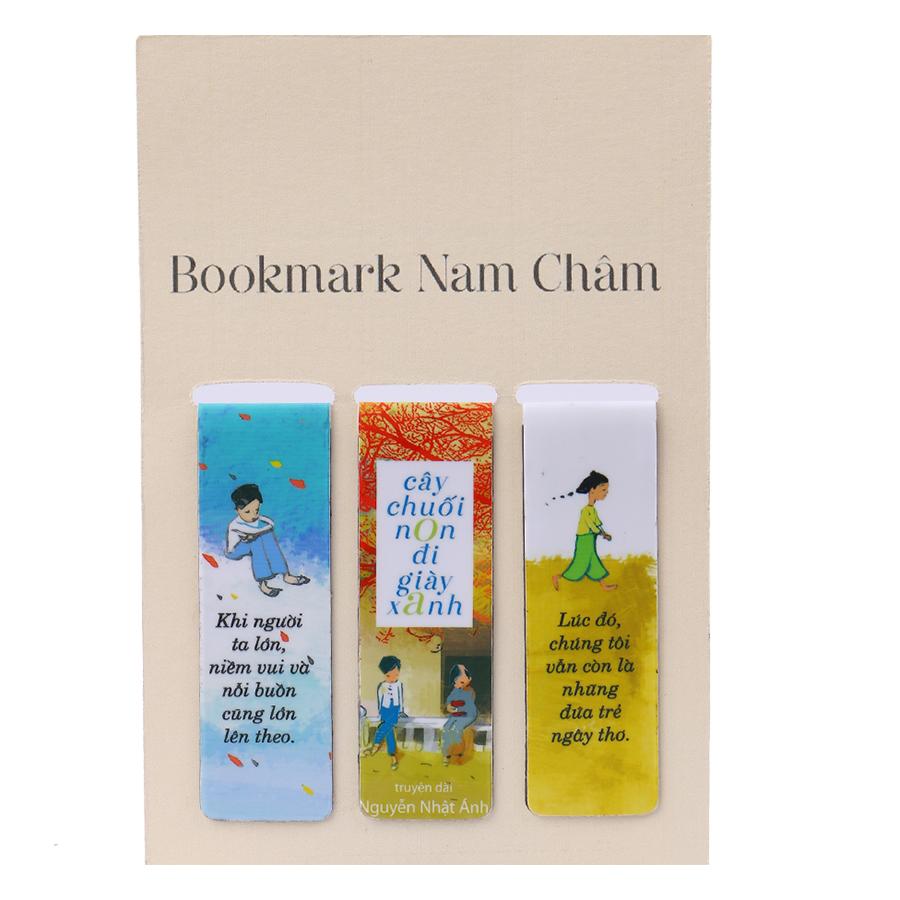 Bookmark Nam Châm - Cây Chuối Non Đi Giày Xanh