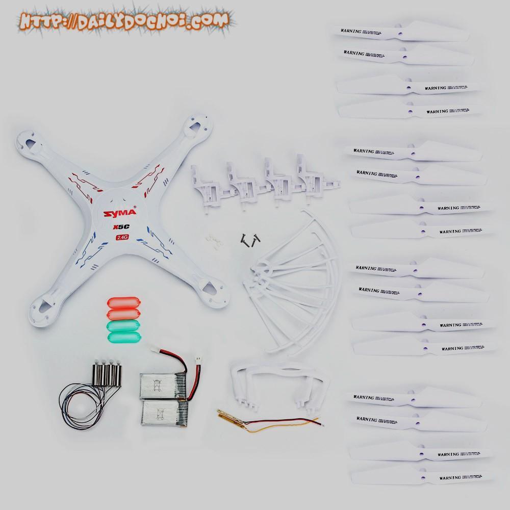 Cánh máy bay, chân đế, vòng bảo vệ, hộp số, động cơ X5C, X5C-1