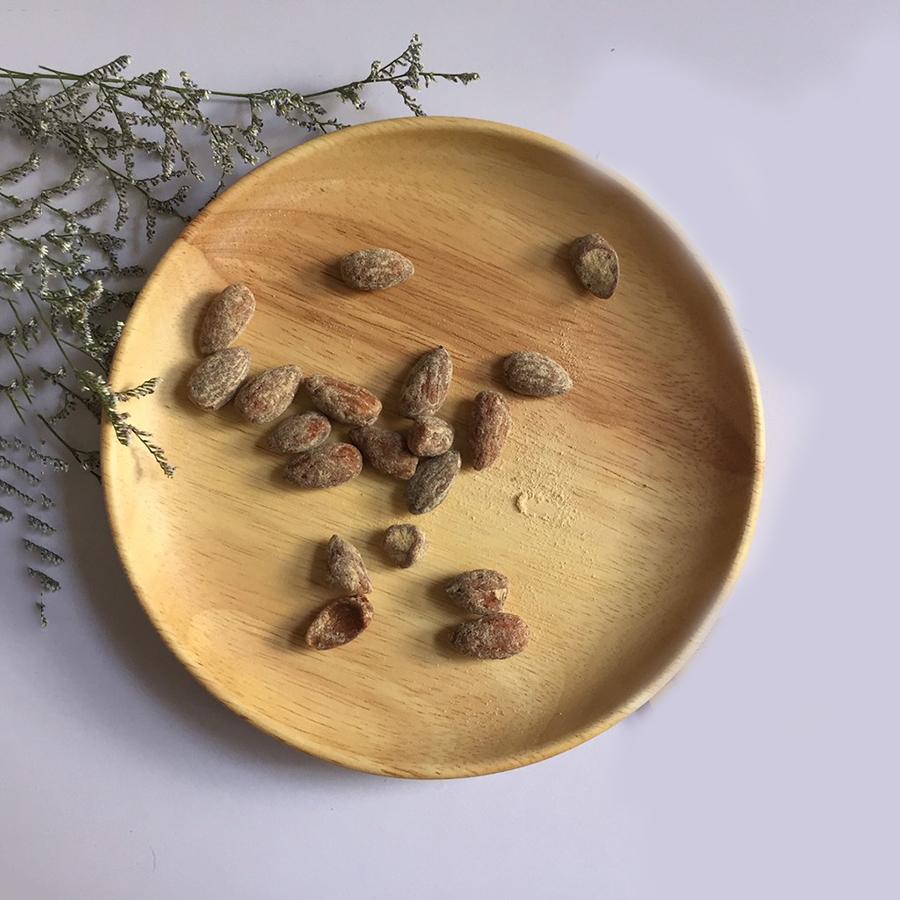Khay gỗ hình tròn