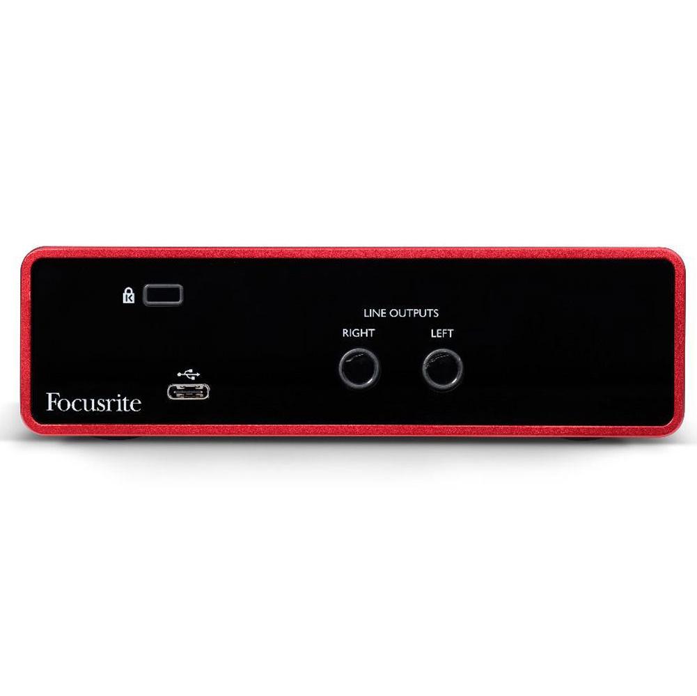 Sound Card thu âm Focusrite Scarlett Solo (3rd Gen) sound card thu âm thế hệ 3 - Hàng chính hãng