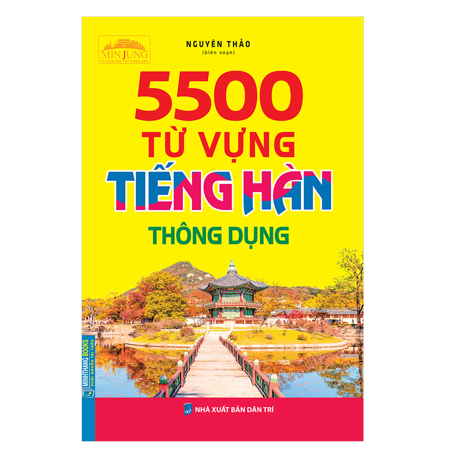 5500 Từ Vựng Tiếng Hàn Thông Dụng