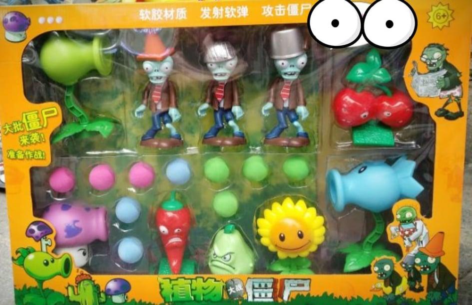 Bộ đồ chơi Plantz vs Zombie hoa quả nổi giận nhiều nhân vật (mẫu ngẫu nhiên)