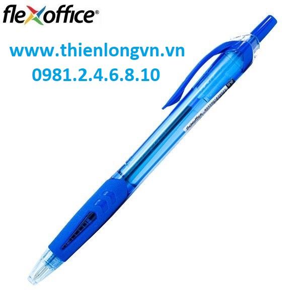 Combo 5 cây Bút Gel B Flexoffice FO-GEL-B012 màu xanh