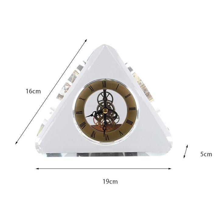 Đồng hồ để bàn đẹp hiện đại tiện ích  Đồng hồ decor trang trí phòng ngủ, phòng làm việc sang trọng  DH-Dh2021