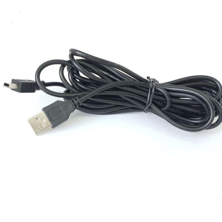 Dây cấp nguồn cho camera hành trình chân cắm USB đầu cắm miniUSB hoặc microUSB