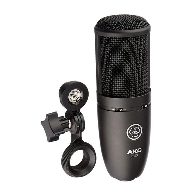 Micro thu âm AKG P120 - mic thu âm chuyên nghiệp cho phòng thu và hát livestream - Hàng chính hãng