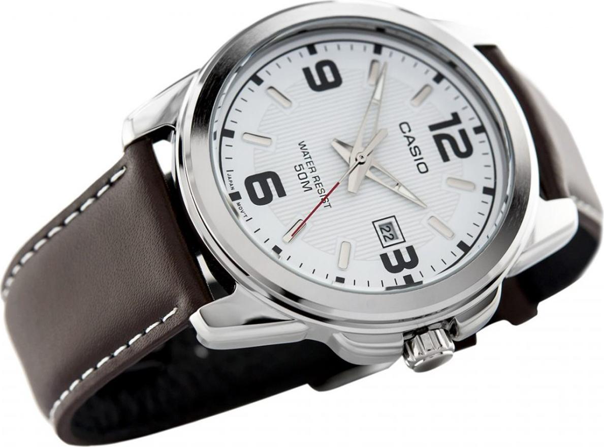 Đồng hồ nam dây da Casio MTP-1314L-7AVDF