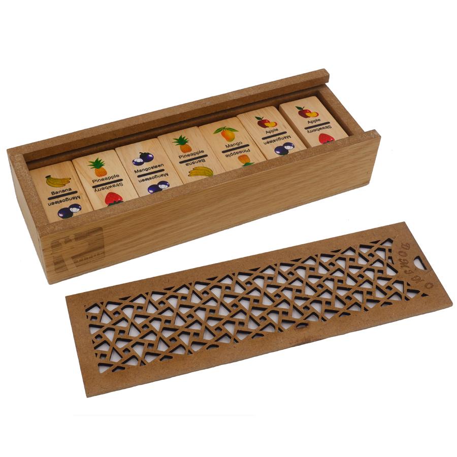 Bộ domino trái cây - TUS010