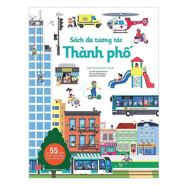 Cuốn sách chinh phục hàng triệu trẻ em trên thế giới: Sách Đa Tương Tác - Thành Phố
