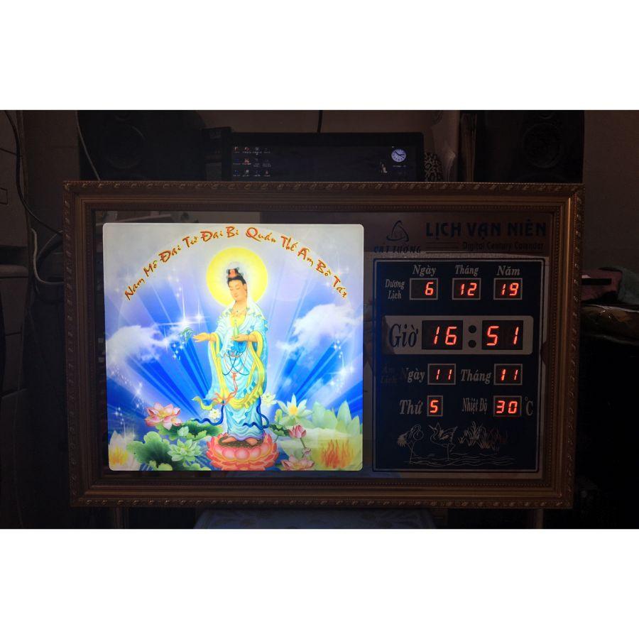 Đồng hồ lịch vạn niên Cát Tường 55619