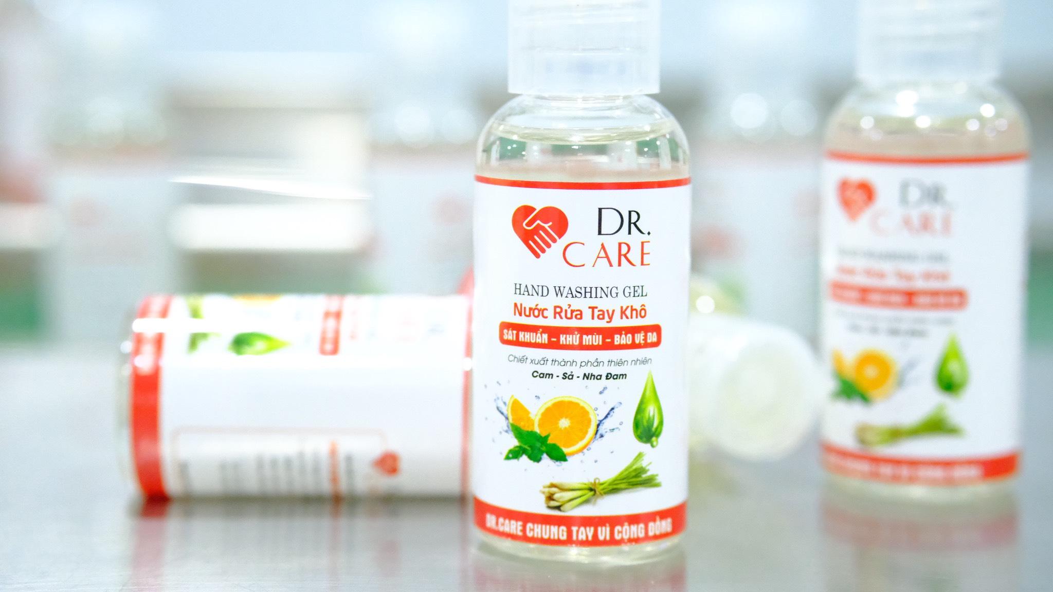 Nước rửa tay khô Dr.Care 50ml