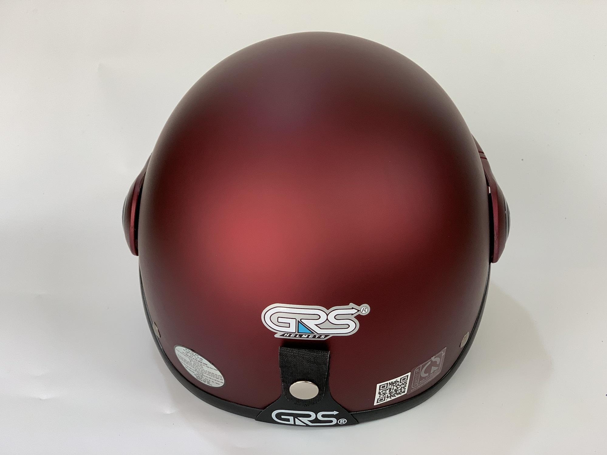 Mũ bảo hiểm GRS A33 kính- Huyền anh