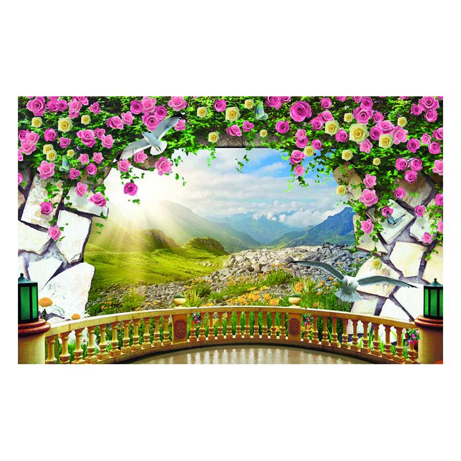 Tranh Dán Tường Phong Cảnh 3D TV0673