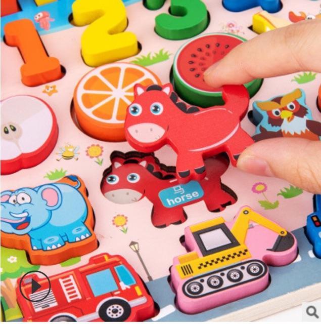 Bộ đồ chơi câu cá và học số thông minh 63 chi tiết