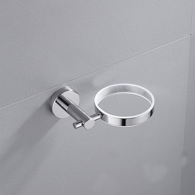 Bộ chổi cọ & kệ đỡ toilet inox 304