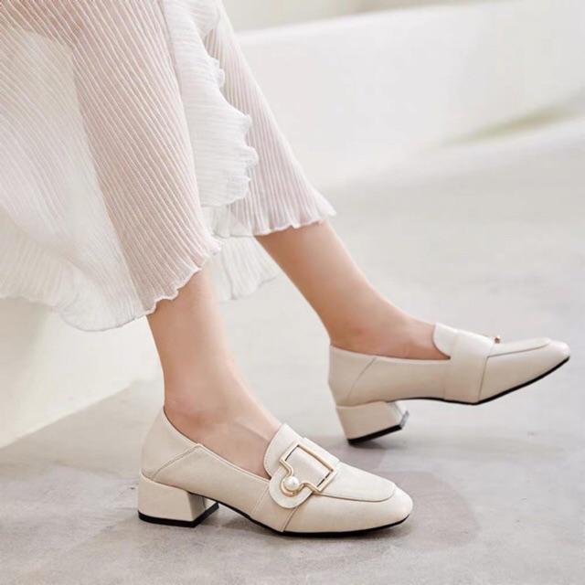 Giày búp bê mũi vuông nữ