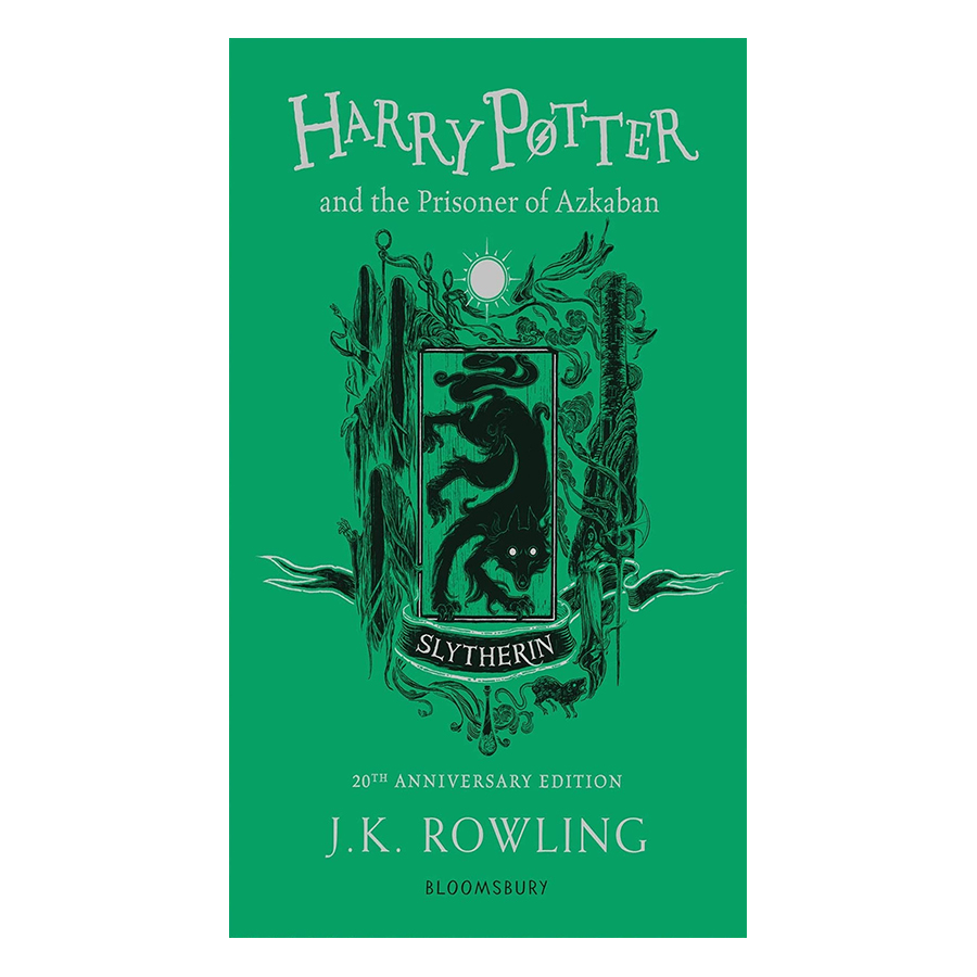 Harry Potter and the Prisoner of Azkaban Slytherin Edition Paperback English Book