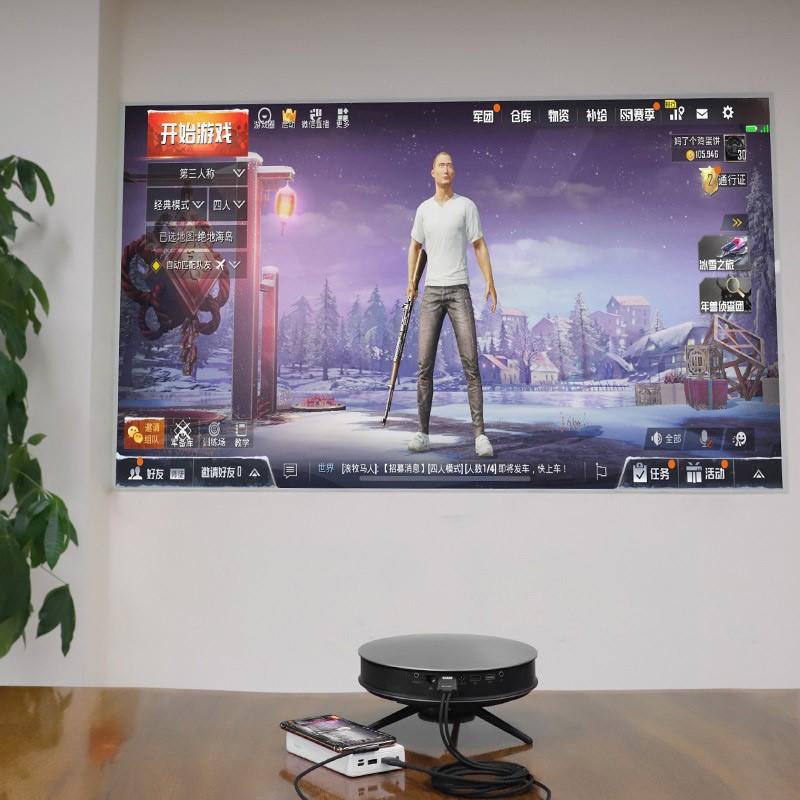 CÁP CHUYỂN LIGHTNING RA HDMI dài 2M - HOCO UA14 - Chân lighning chữ L - Hàng chính hãng