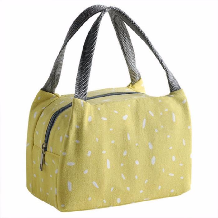 Túi đựng cơm giữ nhiệt vải Oxford vảy sơn (Size 21x14x13cm)